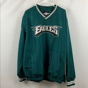 NFL EAGLES Windbreaker Pullover